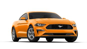 オレンジフューリーメタリックトライコート,2019フォードマスタング,新車,販売