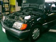 ベンツ500SEL(W140)