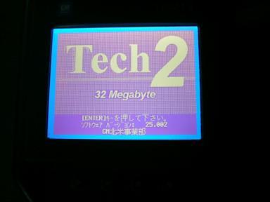 TECH2 GM専用テスター
