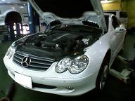ベンツSL500 R230