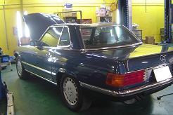 ベンツ500SL
