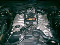 S600のエンジン