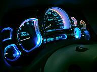 LEDメーターパネル(7色カラーチェンジ)