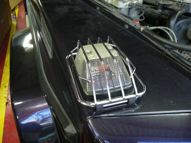 G500L コーナーレンズ カバー ゲレンデ 大阪 アメ車 輸入車 カスタム HID LED  修理 車検 整備 パーツ ABS修理 専門店 ガレージアクト Garage-Act