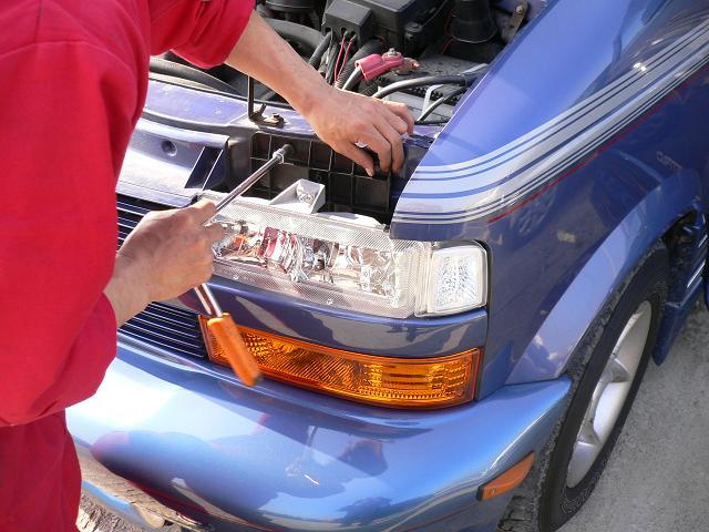 シボレー アストロ 大阪 アメ車 輸入車 カスタム HID LED  修理 車検 整備 パーツ ABS修理 専門店 ガレージアクト Garage-Act