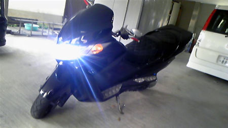 HID 取付 格安 販売 バイク 車 社外HID スズキ スカイウェイブ 大阪 ガレージアクト HID 専門店