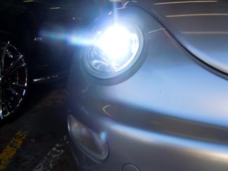 ニュービートル ヘッドライト HID バーナー バラスト セット オリジナルHIDキット 専門店 大阪 ガレージアクト