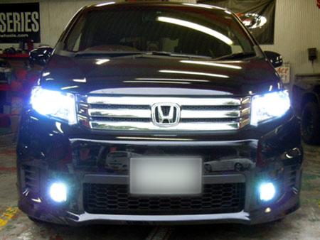 ホンダ フリード HID バーナー 指示器 LED 通販 取付 販売 LED専門店 大阪 ガレージアクト