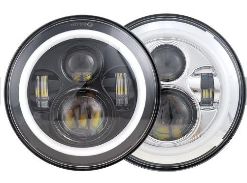 RGB CCFL リング 7inch LED ヘッドライト